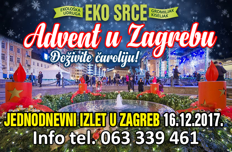 advent u zagrebu za najavu