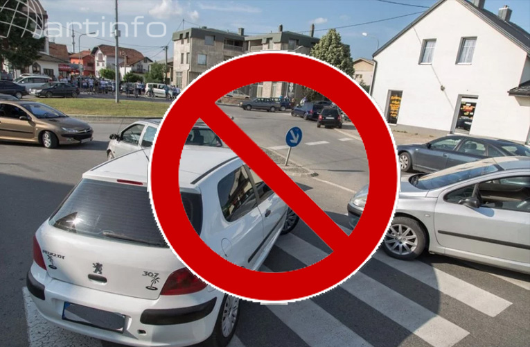 zabrana blokada prometa