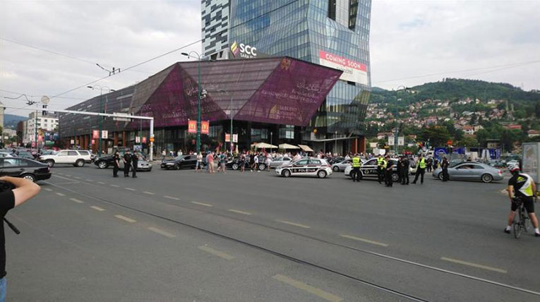 sarajevo blokada prometa